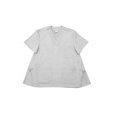 Camisa-pijama m.corta sanitaria-limpieza cuello pico barata Velilla E587