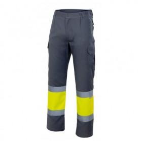 Pantalón forrado combinado alta visibilidad Velilla 156