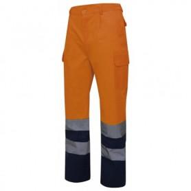Pantalón de trabajo alta visibilidad combinado Velilla 303001