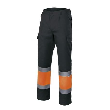 Pantalón de trabajo alta visibilidad personalizado Velilla 157c