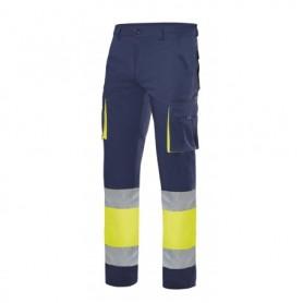 Pantalón forrado,fluor y elástico con bolsillos Velilla F303002s
