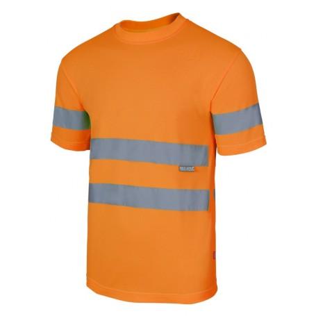 Camiseta técnica reflectante alta visibilidad Velilla 305505
