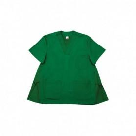 Camisola o camisa pijama sanitario manga corta de colores VELILLA E589