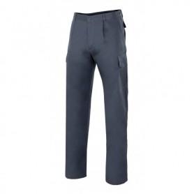 Pantalón fino 100% algodón para trabajar con pinzas Velilla 343