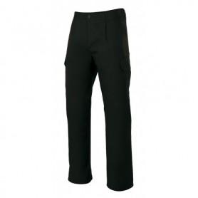 Pantalón de trabajo barato con pinzas y bolsillos Velilla 345