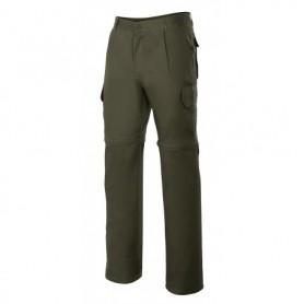 Pantalón 100% algodón desmontable multibolsillos Velilla 346