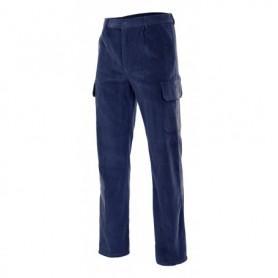 Pantalón de trabajo de pana multibolsillos Velilla 380