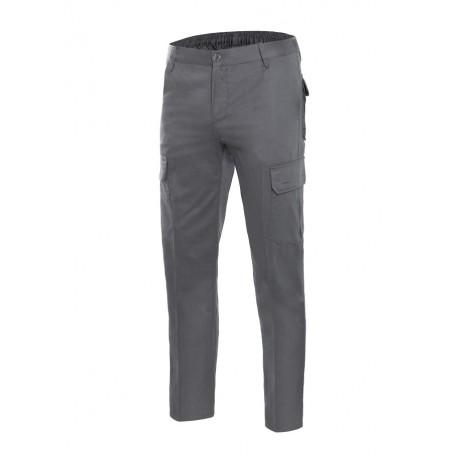 Pantalón de trabajo 100% algodón multibolsillos Velilla 103003