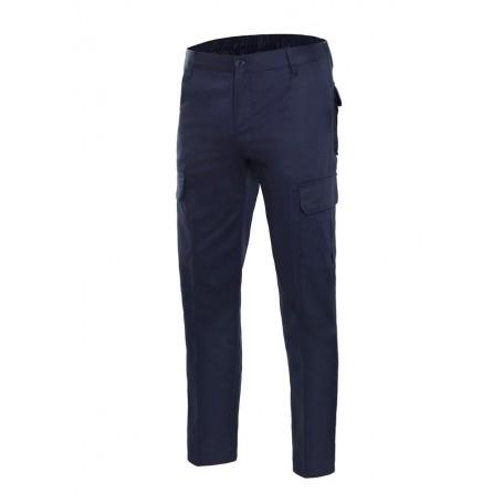 Pantalón laboral de algodón multibolsillos Velilla 103013