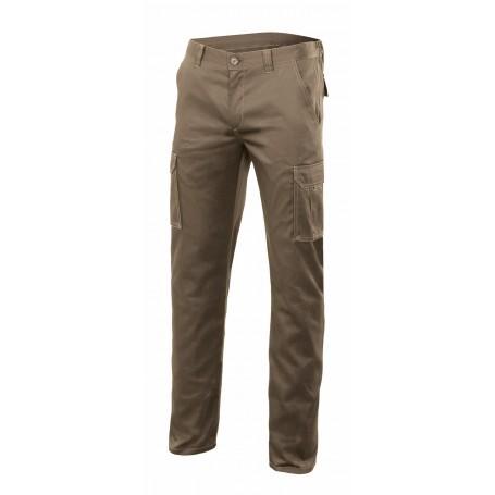 Pantalón de trabajo elástico multibolsillos Velilla 103002s