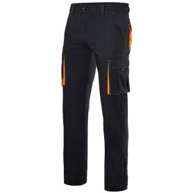 Pantalón laboral elástico bolsillos bicolor Velilla 103008s