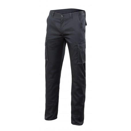 Pantalón elástico con bolsillos forrado Velilla F103005