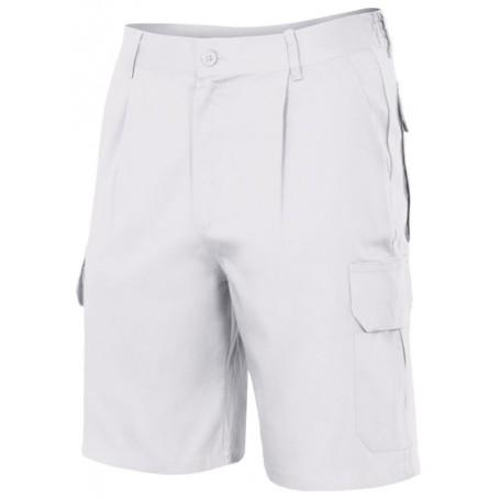 Bermudas-pantalones cortos de trabajo multibolsillo Velilla 344