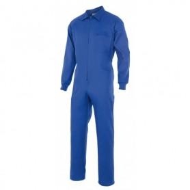 Mono elástico de trabajo m-l azulina con cremallera Velilla 21600