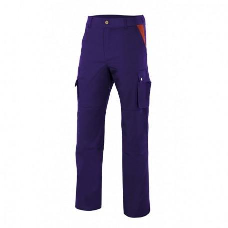 Pantalón laboral reforzado rodillas y trasero Velilla BIZINC