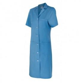 Bata manga corta de limpieza-sanidad-estética MUJER Velilla 907