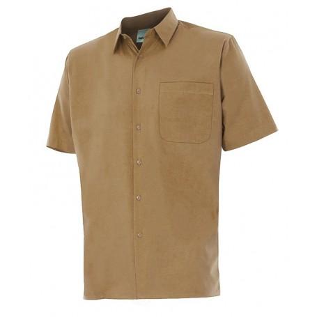 Camisa fina de trabajo de mangas cortas Velilla para Hombre 531