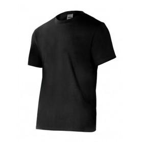 Camiseta laboral en manga corta cuello redondo barata Velilla 5010
