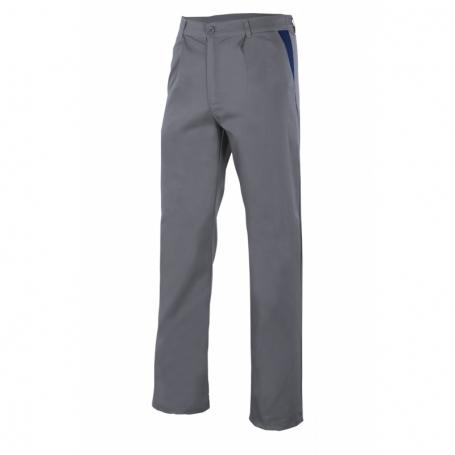 Pantalón con pinzas para trabajar multibolsillos barato Velilla PT346
