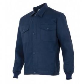 Cazadora-chaqueta laboral 100%algodón barata de cremallera Velilla 645
