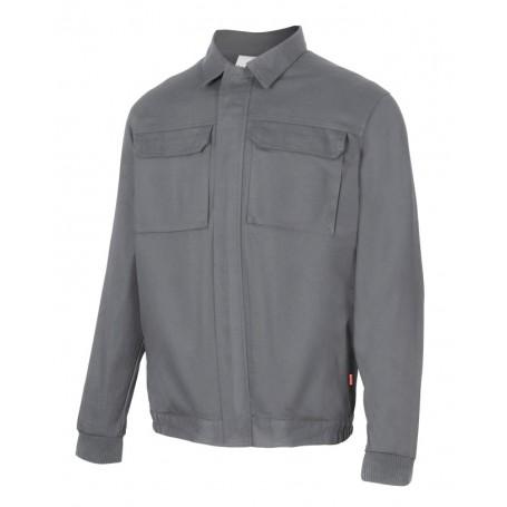 Cazadora-Chaqueta laboral de algodón barata con bolsillos Velilla 61601