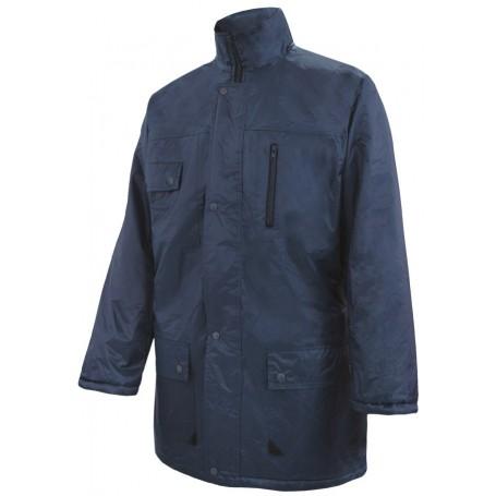 Parka-Abrigo acolchado impermeable con bolsillos Velilla 206004