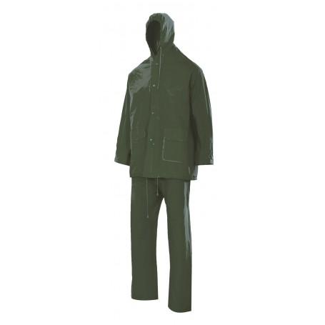 Traje de lluvia 2 piezas-Chubasquero con capucha Velilla 19000