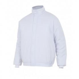Cazadora blanca acolchada para cámaras frigoríficas-frío Velilla 256002