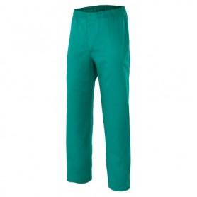 Pantalón pijama con botón sanitario-limpieza barato Velilla 336