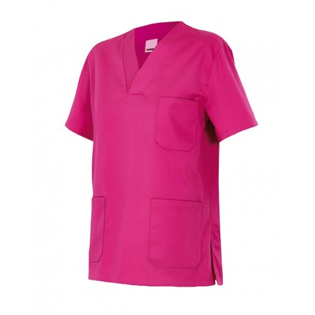 Camisola o camisa pijama sanitario manga corta de colores VELILLA 589