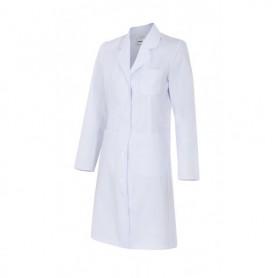 Bata blanca mujer sanitaria-enfermería-limpieza barata Velilla 539002