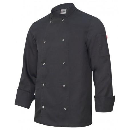 Chaqueta-Casaca de cocina manga larga con botone barata Velilla 405206