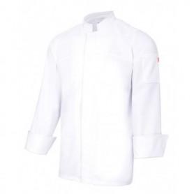 Chaqueta-Casaca de cocina c. mao con botones ocultos Velilla 405208