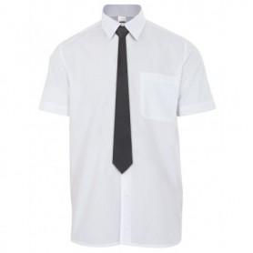 Corbata sin goma negra para camareros y hostelería Velilla 51