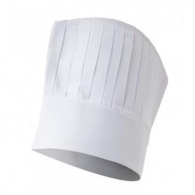 Gorro de cocina-cocinero-hostelería blanco barato Velilla SERIE 82