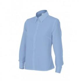 Blusa Camisa en mangas largas mujer hostelería-oficina Velilla 539