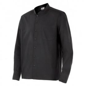 Blusa Camisa en mangas largas cuello mao hostelería Velilla LISTAN