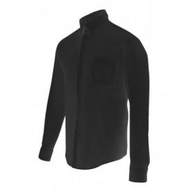 Camisa slim fit elástica de hostelería-camarero hombre Velilla 405003