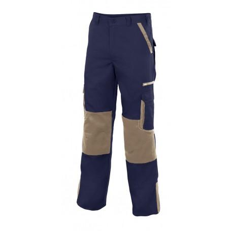 Pantalón laboral con refuerzos en rodillas Velilla PLOMO