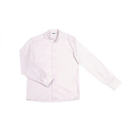 Blusa Camisa en mangas largas cuello mao hostelería Velilla LISTANRY