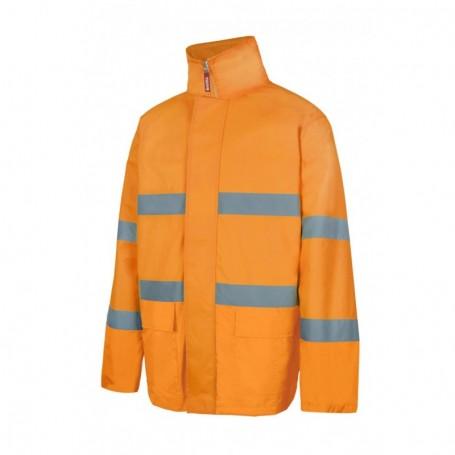 Parka o abrigo impermeable y reflectante acolchado Velilla 306004