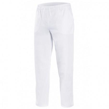 Pantalón pijama 100%algodón y cintas sanitario-limpieza Velilla 339