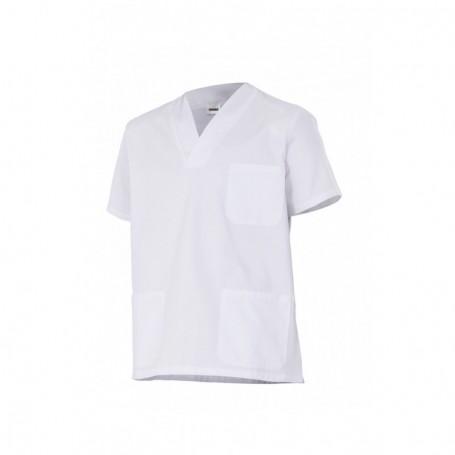 Camisola pijama sanitario-limpieza algodón manga corta Velilla 535205
