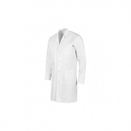 Bata blanca UNISEX sanitaria-enfermería m.larga barata Velilla 539004